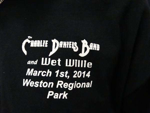 CHARLIE DANIELS BAND - WESTON, FL 3/1/14