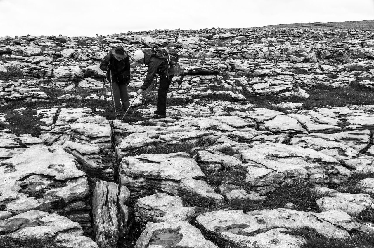 The Burren: what the last ice age left behind.