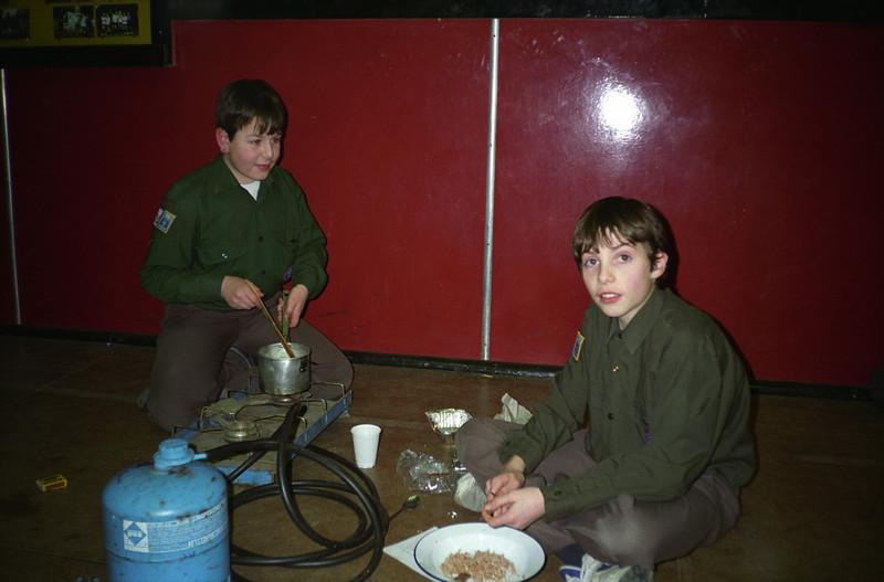 Scout Sweet Making