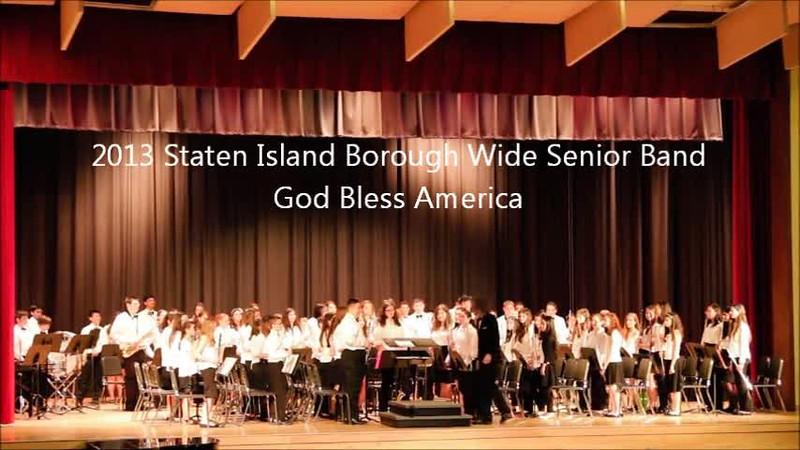 Staten Island Borough-Wide Concerts 2013 - 16-God Bless America.m4v