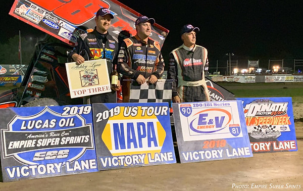 Franek Caps Off Speedweek With Win at Utica-Rome