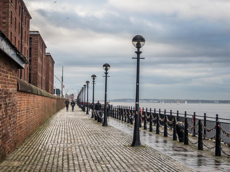 Mersey Riverfront, Liverpool, England