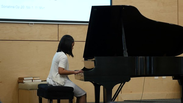 Liesl and Lauren's Piano Recital 2017