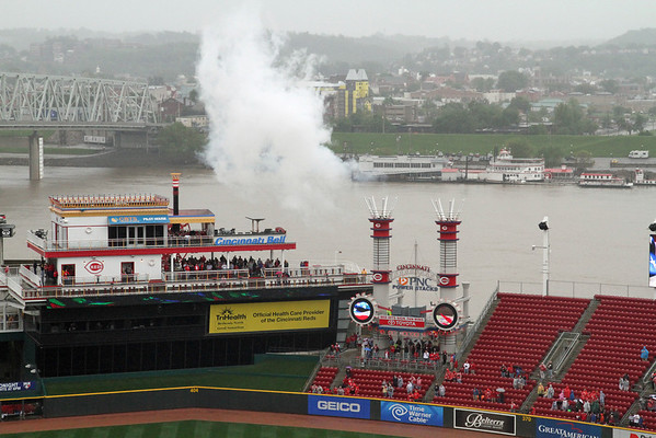 BASEBALL PARKS - GREAT AMERICAN BALL PARK - CINCINNATI REDS