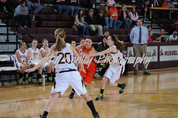 2013 Russell vs Raceland Girls Basketball