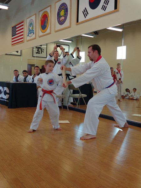 Jr Kicks Belt Test