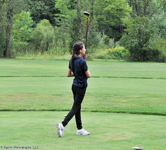 Girls Golf Action