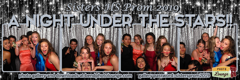 Sisters HS Prom 2019