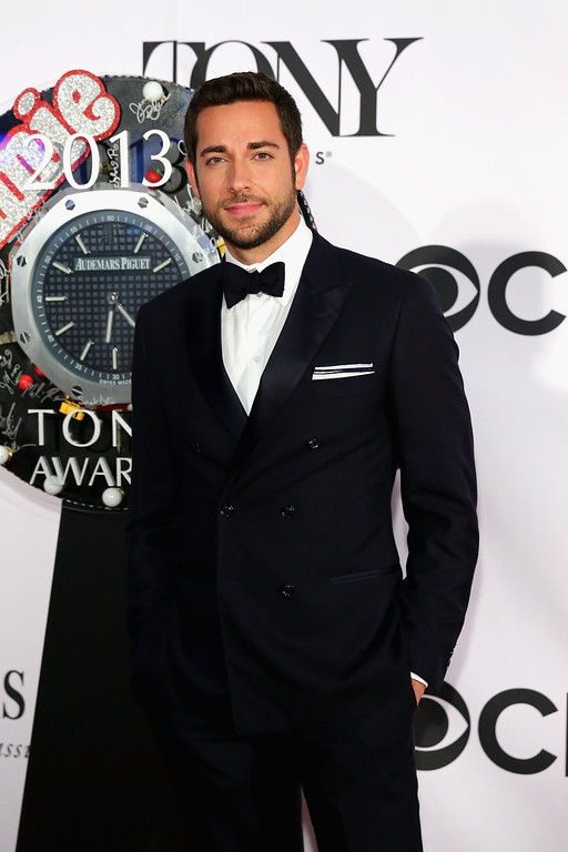 . Actor Zachary Levi attends The 67th Annual Tony Awards  at Radio City Music Hall on June 9, 2013 in New York City.  (Photo by Neilson Barnard/Getty Images)