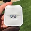 4.08ctw Old European Cut Diamond Pair, GIA I VS2, I SI1 59