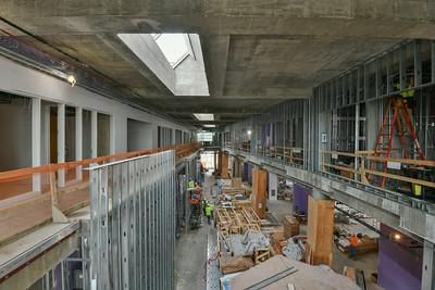 Commercial Interiors UMBC ILSB Progress 10-15-18