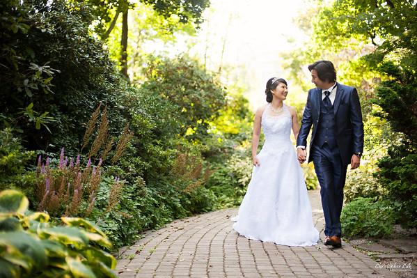 Mikiko and George's Casa Loma Wedding