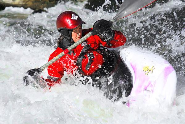 Kayak Art