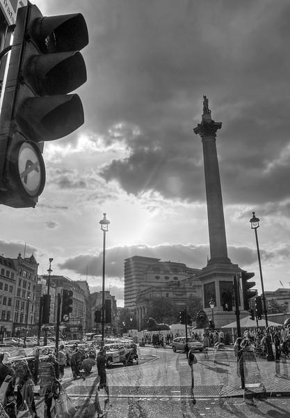 Trafalgar Square - London, UK - May 2, 2009