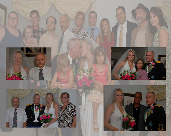 Kristin & Paul Wedding Collages