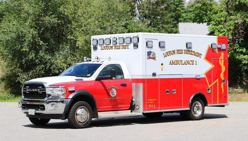 Ambulance 1   2019 Dodge Ram / PL Custom
