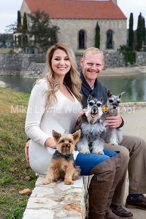 Lauren & Chris Engagement Photos at Adriatica in McKinney