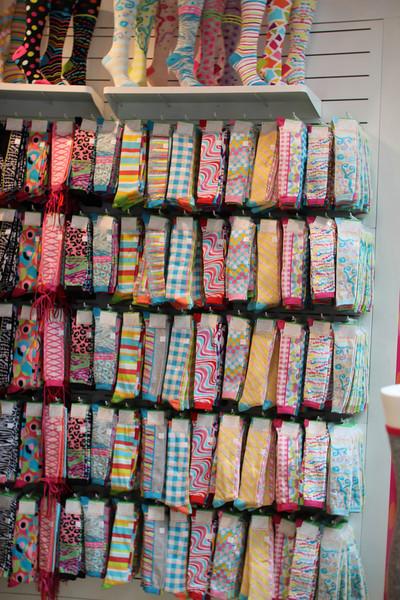 socks at Little Missmatched shop