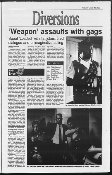 Daily Trojan, Vol. 119, No. 17, February 05, 1993