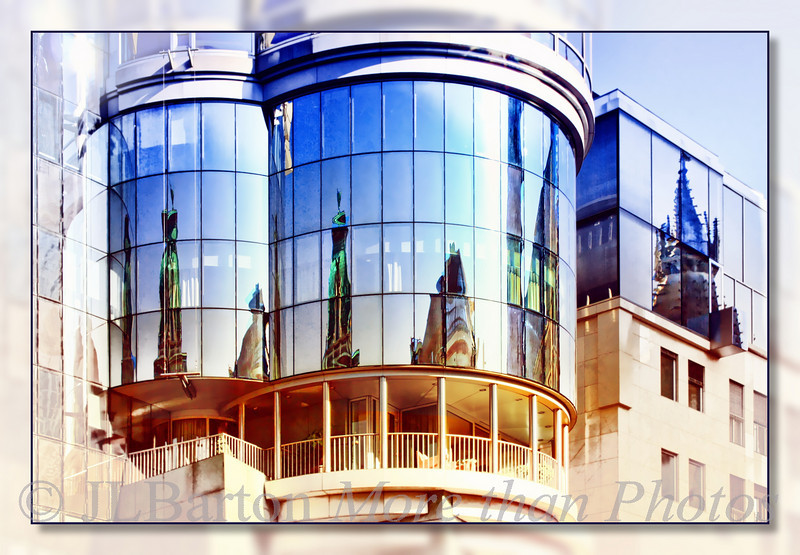 Reflections of Saint Stephen's Cathedral
