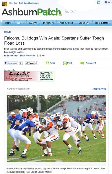 2012-09-09 -- Falcons, Bulldogs Win Again; Spartans Suffer Tough Road Loss (1).png