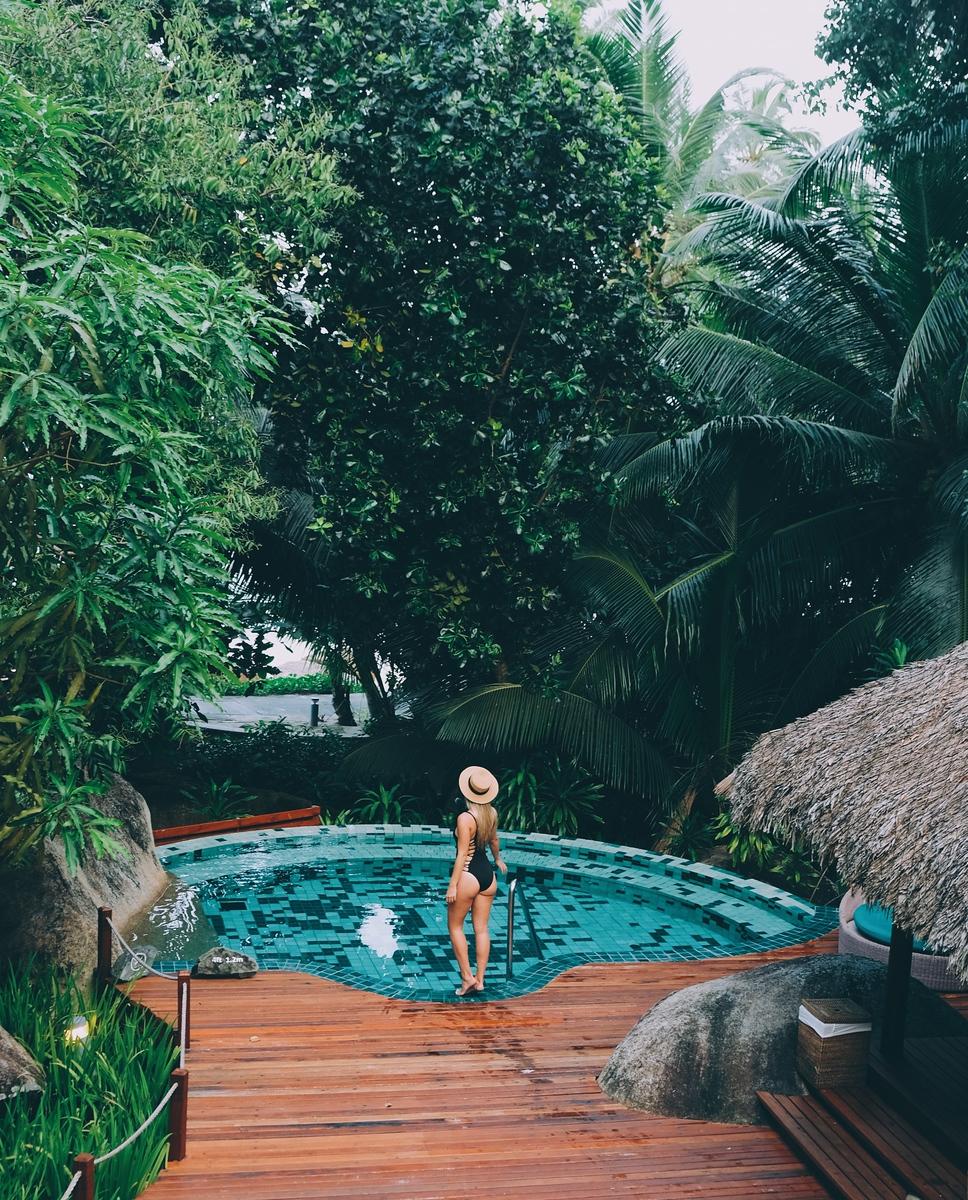 Hilton Seychelles Labriz Resort Pool