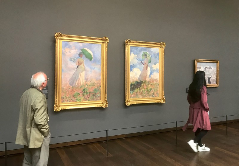 Musée d'Orsay - houses the largest collection of Impressionist and post-Impressionist masterpieces in the world