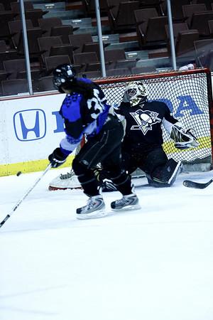Mighty Ducks Pregame Show Honda Center March 30th, 2008