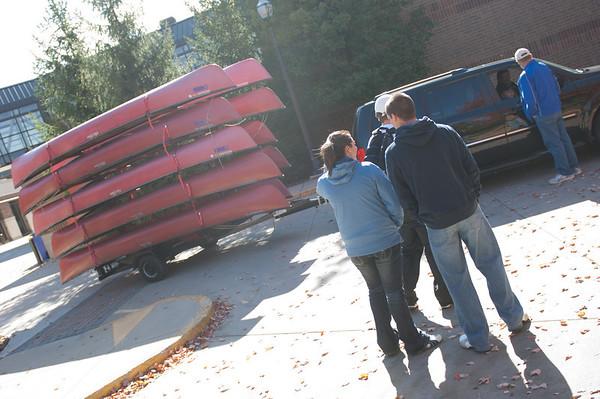 Canoe Trip on Wabash 2011