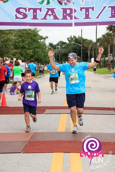 The Great Candy Run 2013, Atlantic Beach, Florida.  Photograph: Kelly Morrell -