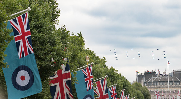 RAF 100 flypast and parade July 2018