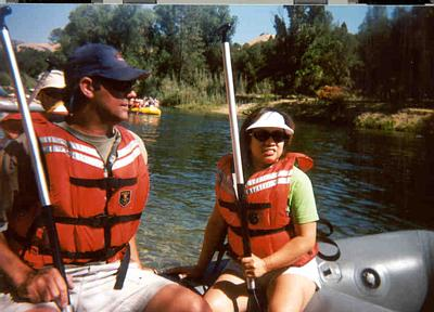 EM Whitewater Raft/American River 2002