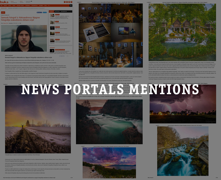 News Portals - Features / Interviews