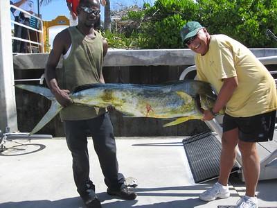 Maasdam Half Moon Cay Bahamas Fishing 4/15/12