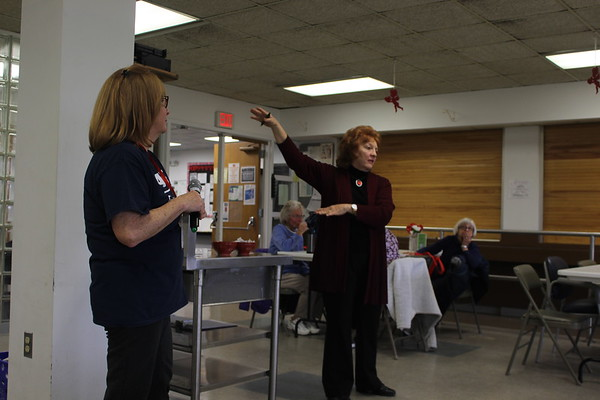 Seniors learn about fraud and scams