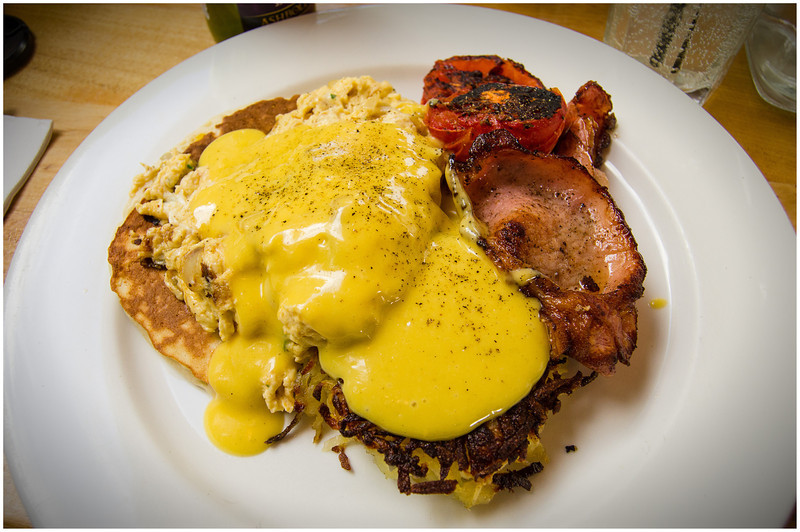 Savoury breakfast @ Environs