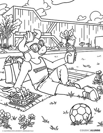FULL COLORING PAGES