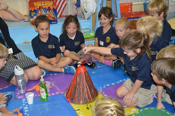 6th Week of Kindergarten- Garden week!