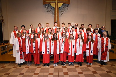 Immanuel Lutheran Church Confirmation photos