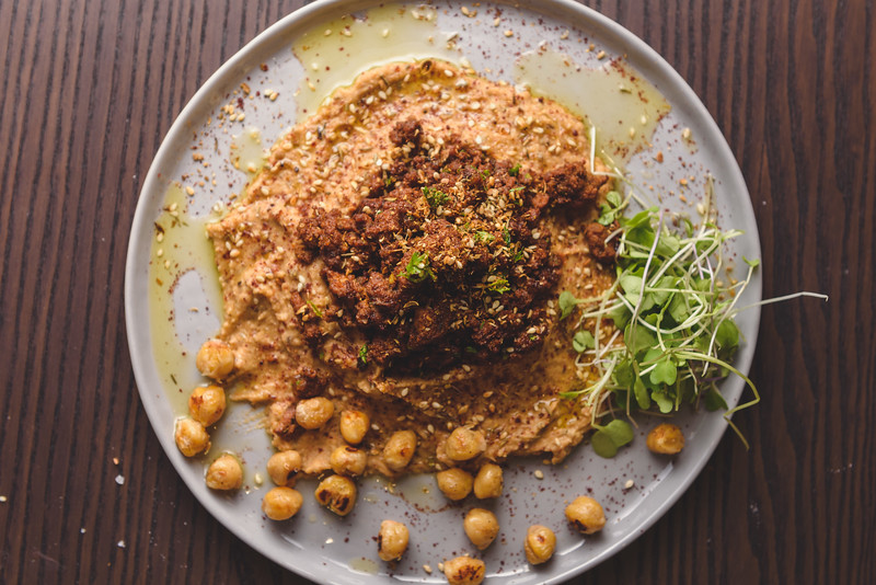 Ground Lamb Hummus