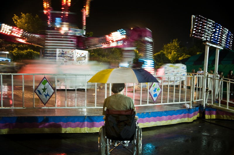 Wheel chair  attendee at Wisconsin State Fair.jpg