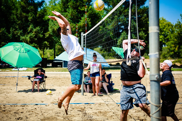 Police vs Fire Volleyball 2018