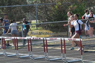 Hurdles - 2012 MHSAA LP Track & Field Regional 8-1 Warren-Mott