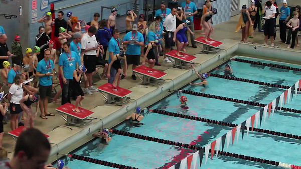 2014 Winter State Meet Swim Videos