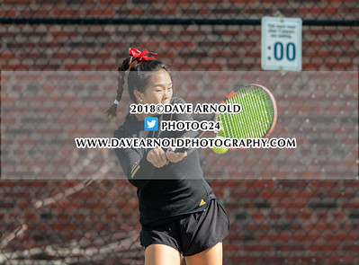 5/1/2018 - Girls Varsity Tennis - Wellesley vs Needham