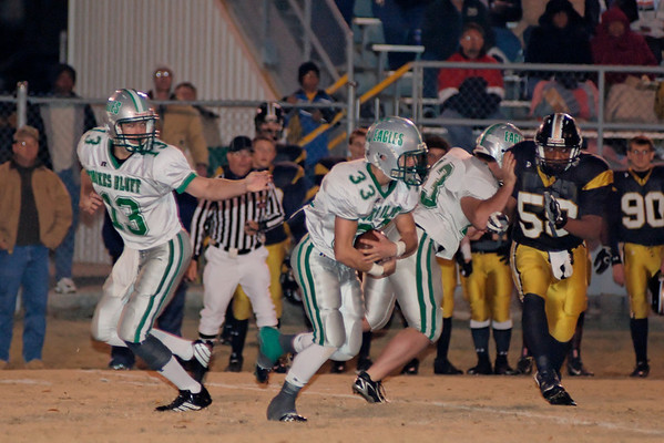 2007 Football Playoffs Round 2 - HB vs Colbert County - Nov 16, 2007