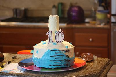 Matthew turns 10 -- 2012