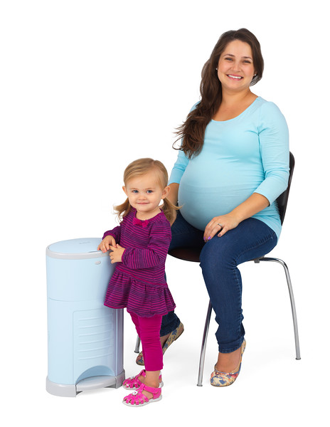 Korbell_Pastel_Blue_mum_pregnant_chair_child_stand_smiling.jpg