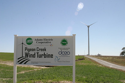 Adams Electric Pigeon Creek Wind Turbine Open House
