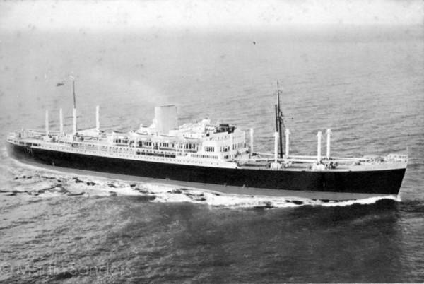 RMS Rangitane 9/12/1961 - 9/6/1963